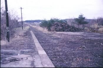大畑線廃線跡調査2